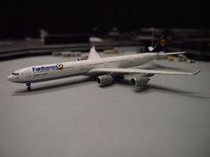 GEMINI JETS 1:400 Lufthansa A340-600 D-AIHN Fanhansa GJ1318…