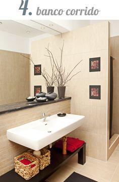 5 alternativas para gabinete de banheiro