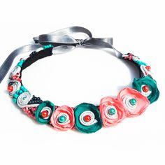 Necklaces, Bracelets, Crochet Necklace, Floral, Jewelry, Fashion, Moda, Jewlery, Jewerly
