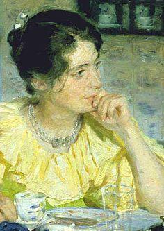 Portrait of Marie Kroyer 2 by Peder Severin Kroyer
