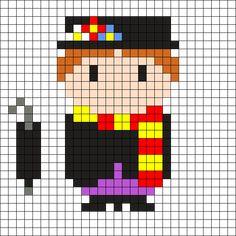 Mary Poppins by Tashar_h on Kandi Patterns