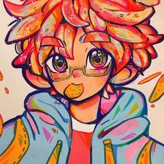Cartoon Drawings, Cool Drawings, Cartoon Art, Art Style Challenge, Cute Art Styles, Dibujos Cute, Marker Art, Kawaii Art, Copics