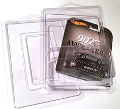 Hot Wheels Carded Blister Package Protective Covers (CAR NOT INCLUDED) high impact acid free clear plastic. This tough material combined with a strong one piece construction provides a safe & secu...