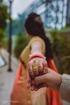 """Photo from Capture Memories """"Sidhdharth & Krupali - Engagement"""" album Indian Wedding Couple Photography, Couple Photography Poses, Bridal Photography, Pre Wedding Poses, Wedding Couples, Indian Engagement Photos, Engagement Rings, Wedding Photoshoot, Indian Wedding Rings"""