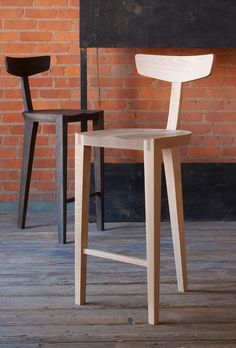 New York City modern furniture designer Don Howell presents his bespoke, handmade furniture collection. Handmade Furniture, Modern Furniture, Furniture Design, Kitchen Stools, Bar Stools, Minimal Traditional, Furniture Collection, Joinery, Chair Design