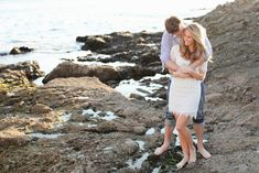 Beach engagement photo shoot.  Looks like a trip back to CA will be in the near future :)