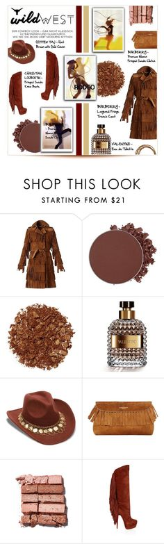 """""""MOST WANTED"""" by larissa-takahassi ❤ liked on Polyvore featuring Burberry, Anastasia Beverly Hills, Illamasqua, Valentino, Gottex, Bobbi Brown Cosmetics and Christian Louboutin"""