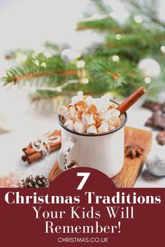 7 Christmas Traditions Your Kids will Remember! Make holiday memories this year with these easy Christmas activities which the whole family can enjoy - toddlers, kids, adults and grandparents! Make this Christmas the best one yet! Holiday Gift Guide, Holiday Gifts, Spiced Eggnog, Hot Chocolate, Unique Gifts, Spices, Breakfast, Christmas, Etsy