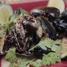 We take a classic French/Belgian way to cook mussels and put a little bit of south east asian flavour to it.