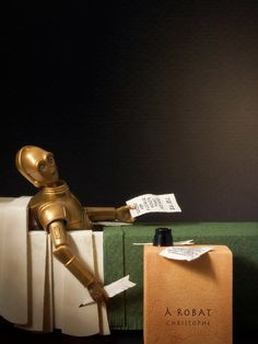 Death of C3PO after the Death of Marat.