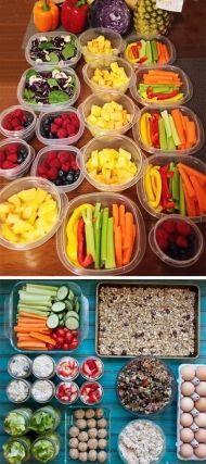 Domácí krabičková dieta Dieta Detox, Sushi, Smoothies, Good Food, Food And Drink, Health Fitness, Lunch, Healthy Recipes, Vegetables