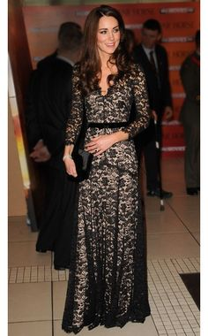 love love the dress & kate's style