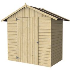 Abri bois gamme hirondelle abri de jardins en bois for Carport oogarden