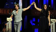 American Idol coach Keith Urban and runner-up Kree Harrison are honored at the Grand Ole Opry on Tuesday, June 4, 2013.