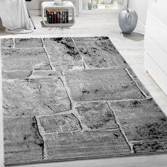 edler designer teppich wohnzimmer holzstamm baum optik natur grau ... - Teppich Wohnzimmer Braun