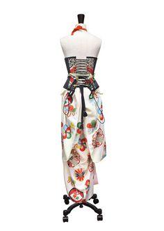 埋め込み画像への固定リンク Short Dresses, Dresses For Work, Summer Dresses, Fashion Show, Fashion Outfits, Fashion Design, Kimono Japan, Couture Outfits, Kimono Fabric