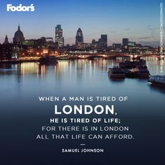 Is London on your travel list?