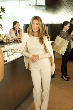 nina garcia looks chic in head-to-toe cream Style Work, Mode Style, Her Style, Looks Street Style, Looks Style, Fashion Mode, Work Fashion, Style Fashion, Fashion Outfits