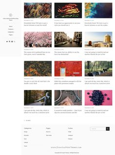 East is a modern, clean, and minimal WordPress theme for your next blog. East is created for those who want to create a #minimal and beautiful online content site or a personal #blog.