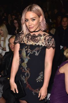 How-To: Hilary Duff's Light-Pink Lob | Modern Salon