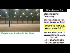 Warehousing company, warehouse for storage space for long lease and rent...