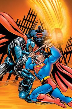 Jon Bogdanove - Superman vs Steel