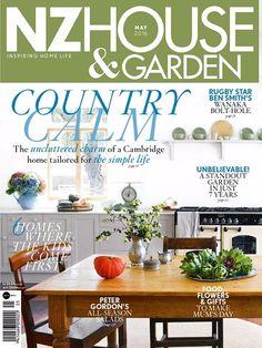 Nz House & Garden May 2016 Issue- Country Calm  #NzHouseandGarden #HomeInteriors #ebuildin