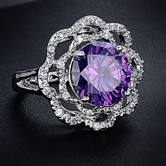 Find More Rings Information about 2014 Hot Flower Ring O for Women New Fashion Ring O Gold Plated Rings O with Crystal Zircon Ring O Wholesale Free Shipping,High Quality Rings from Fashion Jewelry Boutique Store on Aliexpress.com