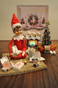 Elf on the shelf - use in Barbie House??