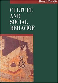 Amazon.com: Culture and Social Behavior (9780070651104): Trafalgar House Publishing, Harry C. Triandis: Books