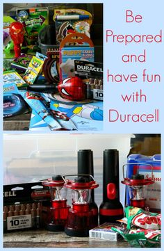 How to be prepared and keep the kids entertained during a storm with Duracell! #PrepWithPower #shop #cbias