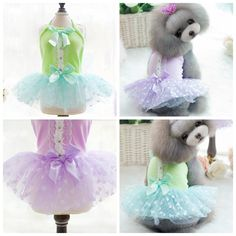 Wedding Dresses Love Embroidery Lace Fair Lady Dresses Pet Clothes for Dogs Parka Cats Dog Yorkshire Chihuahua 16052 Winter