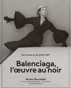 """Must-see Le Musée Bourdelle - l'exposition """"Balenciaga, l'oeuvre au noir"""""""