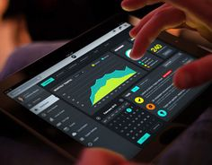 stats dashboard ux design ios - Buscar con Google
