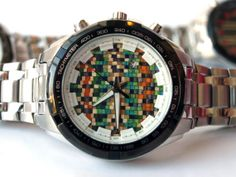 ATCTTeam Mens Watch. Recycled Skateboard Dial. Made in Canada by SecondShot