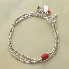 SILVER THREE WAYS BRACELET