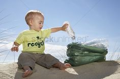 Peek out from under the piles of laundry and diapers, and learn how to integrate some eco-friendly parenting into your family life. Ocean Cleanup, Ocean Day, Green Tips, Happy Earth, Oceans Of The World, Beach Photos, Baby Pictures, Funny Photos, Cute Babies