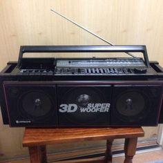 Hitachi-TRK-7620E-Ghettoblaster-Boombox