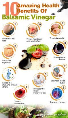 Balsamic Vinegar: 10 Incredible Health Benefits: #wellness #organic #food