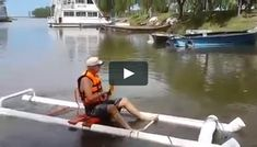 One man built himself a great floating pvc kayak for cheap, and it works great too!