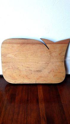 45 — Vintage Whale Folk Art Cutting Board