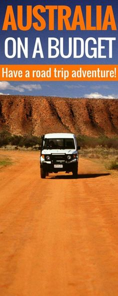 How to road trip Australia on a budget. Australia can be expensive and driving around Australia in a van or RV or campervan can really cut the cost! Tips for driving around Australia in campervan. Australia Road Trip Tips Travel Australia travel r Rv Travel, Packing Tips For Travel, Cheap Travel, Places To Travel, Travel Destinations, Budget Travel, Travel Hacks, Packing Lists, Travel Ideas