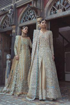 """High Fashion Pakistan — Saira Shakira's """"Artemisia"""" Bridal Collection,. Pakistani Fashion Party Wear, Pakistani Wedding Outfits, Pakistani Couture, Pakistani Bridal Dresses, Bridal Outfits, Bridal Lehenga, Indian Dresses, Indian Outfits, Walima Dress"""