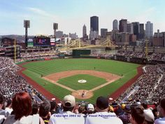 PNC Park, Pittsburg PA  April 5th against the Phillies