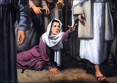 Jesus Healing the Bleeding Woman | jesus_heals_the_bleeding_woman