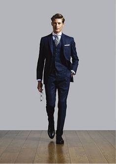 Hackett Designer Menswear Autumn/Winter 2011 Lookbook - Look 16 by Hackett London, via Flickr - wedding suit