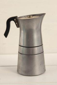 Vintage Hungarian Moka Pot Coffee Maker Percolator 60s Machine