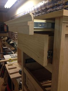 Night Stand With Locking Secret Hidden Drawer CompartmentsDiy