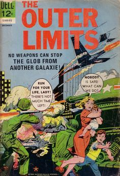 comicbookcovers:  The Outer Limits #8, December 1965,  Pencils/Inks:Jack Sparling