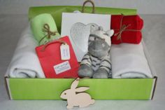 'Hearts and Stripes' - Large Luxury New Baby Gift Hamper - Gift Box - Soft blanket - Fluffy soft toy - 100% cotton bib - Shabby chic wooden photo frame - Essential oil gift just for mum., http://www.amazon.co.uk/dp/B00F5500GY/ref=cm_sw_r_pi_awdl_s13Btb1PDXYZT